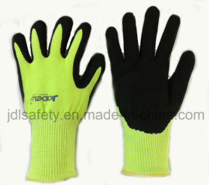 Cut Resistant Work Glove with Sandy Nitrile (ND8061) pictures & photos