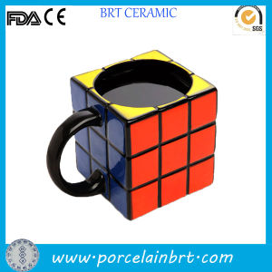 Gift Favor Rubik Shaped Custom Coffee Cup pictures & photos
