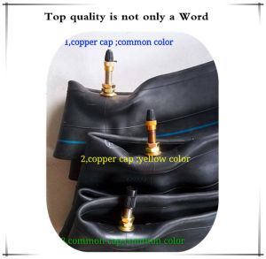 DOT Approved Three Wheel Natural Rubber Motorcycle Inner Tube (4.10-18) pictures & photos