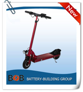 36V 350W Foldable E-Scooter with Samsung Battery Pack and Rear Brushless Motor pictures & photos