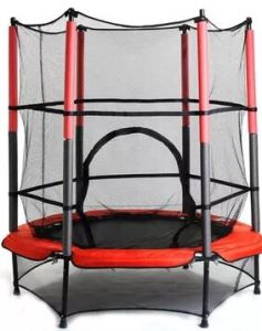 Mini Jump Trampoline with Safety Net Kids Gifts pictures & photos