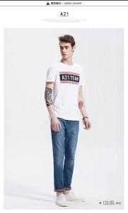 OEM New Design Cheap Sale Men T Shirt with Print pictures & photos