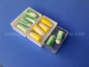 Wholesale Airline Custom PU Earplug in Plstic Box pictures & photos