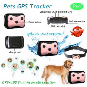 New Waterproof Pet GPS Tracker with 2 Way Communication (D69) pictures & photos