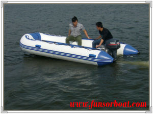 7 Persons 30HP Inflatable Motor Boat with Alloy Floor pictures & photos