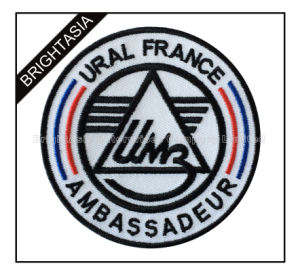 Custom Embroidery Embroidered Patch for Company Use (BYH-10938) pictures & photos
