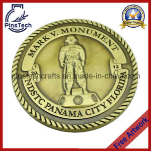 Accept Paypal! Custom Make Challenge Coin with Rope Edging pictures & photos