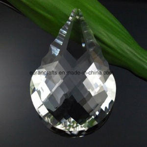 Leaf Shape Chandelier Pendants Crytal Beads