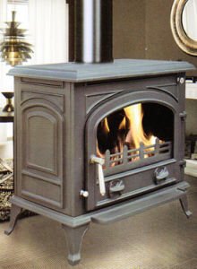 Wood Burning Stove/Multifuel Cast Iron Stove (FIPA065) pictures & photos