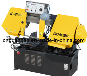 Hinge Band Sawing Machine for Metal Cutting Gd4028 pictures & photos