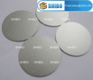 1.6mm Thickness Polished Molybdenum Round Discs pictures & photos