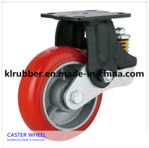 Rubber Polyurethane Caster Swivel Caster Wheels pictures & photos