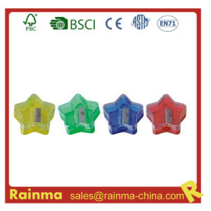 Colorful Star Kids Safety Pencil Sharpener pictures & photos