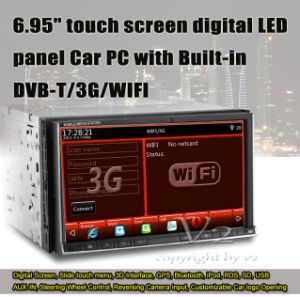 Digital LED Panel Car PC Player (VDD74GD)