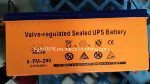 MSDS Manufacturer and Exporter of 12V 200ah Battery pictures & photos