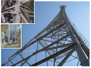 Microwave Antenna Telecom Tower Self Supported Tower pictures & photos