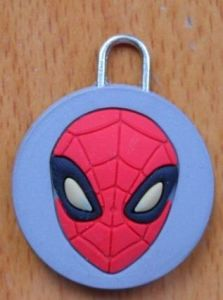 Fashion Cool Spider Soft PVC Zipper Puller pictures & photos