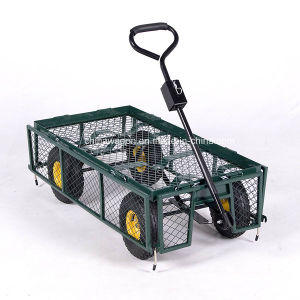 Heavy Duty Garden Trolley Track Cart pictures & photos