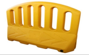 Expandable Yellow Plastic Road Safety Barrier pictures & photos