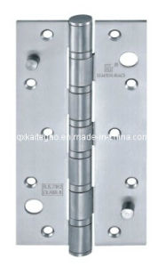 Satin Finish Double Hook Security Hinge for Wooden Door (3584-6BB) pictures & photos