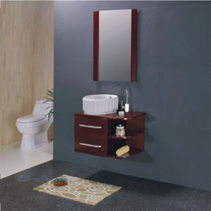 MDF Bathroom Cabinet W-65 pictures & photos