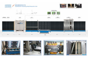 Double Glass Machine/Insulating Glass Line/Double Glazing Machine for Both Alu-Spacer and Super Spacer pictures & photos