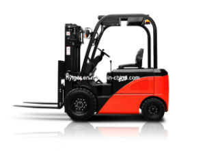 2.5ton Four Wheels Electric Forklift (T25) pictures & photos