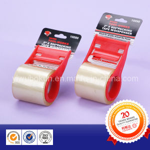 Office Use Stationery Adhesive Packing Tape with Cutter pictures & photos
