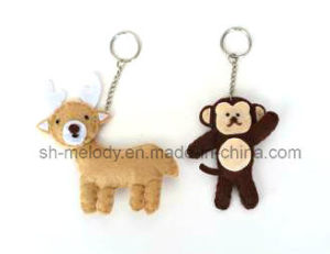 Cute Animal DIY Felt Keychain Decoration pictures & photos