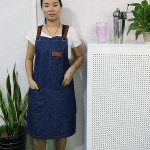 Personalized Blue Denim Shop Work Apron Wholesale pictures & photos