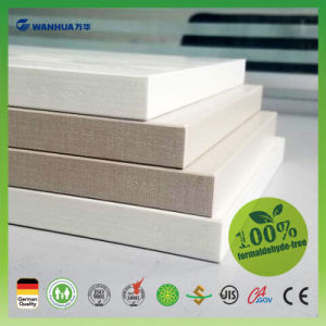 Wanhua 9mm Melamine Faced Chipboard with High Moisture Proof pictures & photos
