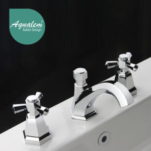 Classic Style Double Handle Basin Mixer Tap Basin Faucet