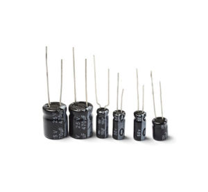 Best Price DIP Type Aluminum Electrolytic Capacitor pictures & photos