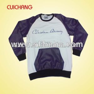 Wholesale Polyester/Spandex Heat Transfer Printing Custom Design Sweatshirt Wy-004 pictures & photos