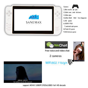 "Fashionable 7"" Android 4.0 8GB with WiFi/HDMI Game Console"