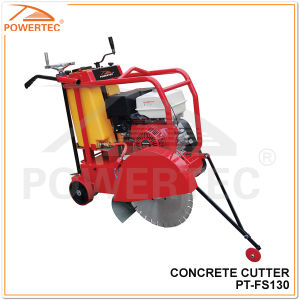 Powertec145mm Gasoline Concrete Cutter, Concrete Cutting Machine (PT-FS130) pictures & photos