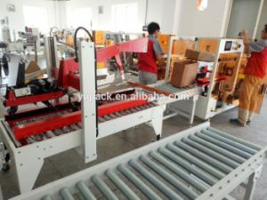 High Speed Endoline Case Carton Box Erector with Conveyor pictures & photos