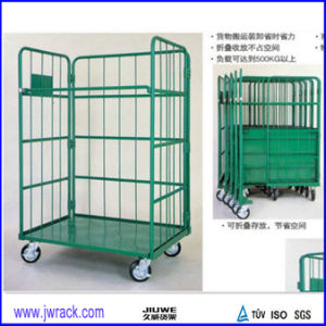 Foldable Warehouse Trolley/Logistic Cart/Logistic Trolley pictures & photos