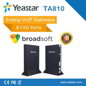 Asterisk T38 SIP and PSTN Trunk Supported 8 FXO Ports VoIP Analog FXO Gateway pictures & photos