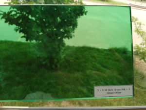 Dark Green PVB Film Building Safety Laminated Glass pictures & photos