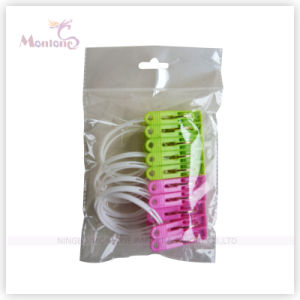 12PCS Colorful Plastic Clothes Pegs pictures & photos