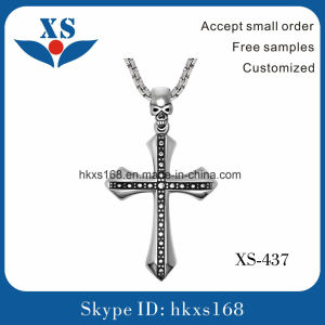 Stainless Steel Cross Pendant for Necklace