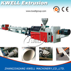 16-630mm PVC Pipe Extrusion Machine, Water Tube Extruder pictures & photos