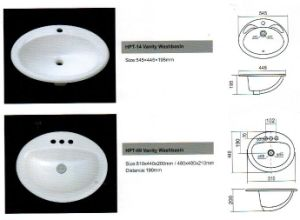 Ceramic Washbasin, Vanity Washbasin