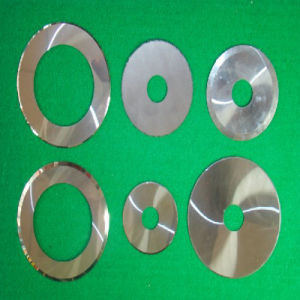 Tungsten Carbide Circular Slitting Knife for Corrugated Paper pictures & photos