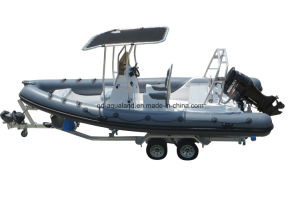 Aqualand 21feet 6.5m Rigid Inflatable Motor Boat/Rib Fishing Boat (RIB650B) pictures & photos