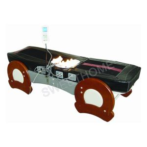 Electric Full Body Jade Thermal Massage Bed / Best Wooden Far Infrared Heated Massage Table pictures & photos