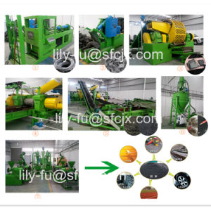 Waste Tyre Recyling Plant to Rubber Powder pictures & photos