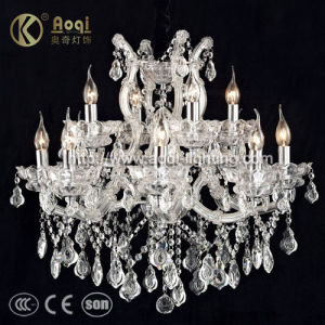 European Crystal Chandelier Candle Crystal Lamp (AQ50038-8+4+1) pictures & photos
