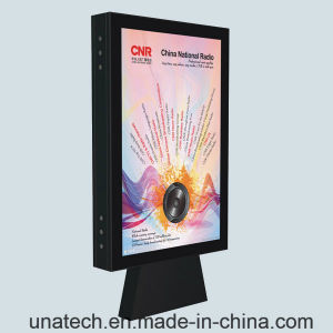Outdoor Highway Road Water-Proof Advertising Media Scroller LED Light Box Billboard pictures & photos